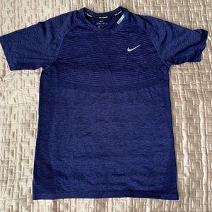 Nike Running Dri-Fit Men's Blue T-shirt